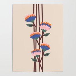 Henri Flowers Poster