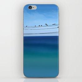 Cretan Sea & Birds I iPhone Skin