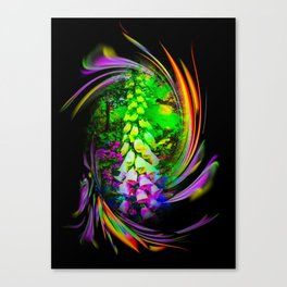 Flowermagic - Thimble Canvas Print