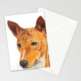Basenji Stationery Cards