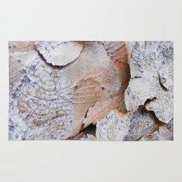Tree Bark rustic decor Rug