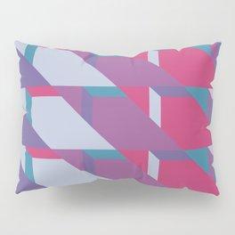 Abstract Drama #society6 #violet #pattern Pillow Sham