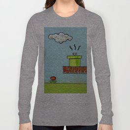 Hiding From the Nature of Things Long Sleeve T-shirt