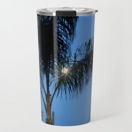 Moonlight through the Palms, Southern California Travel Mug