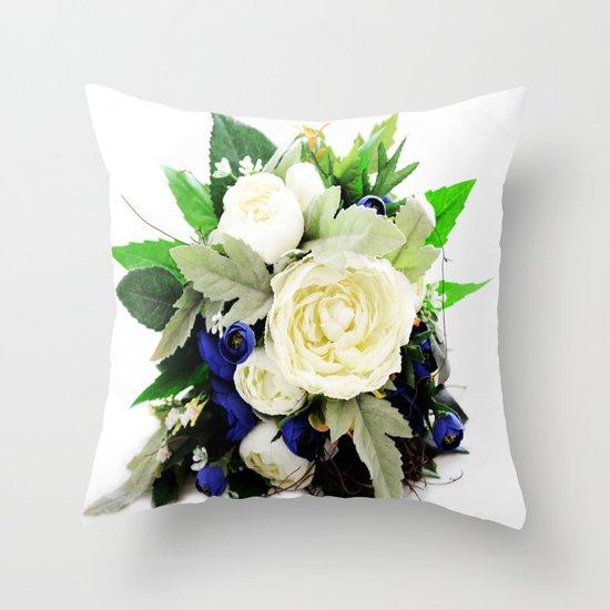 Flowers # Throw Pillow