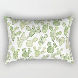 cactus, plants, succulents Rectangular Pillow
