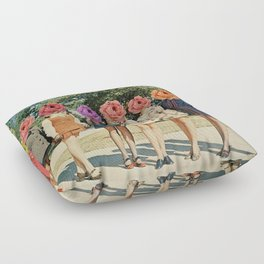 flower power Floor Pillow
