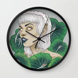 The Leaf Elf Wall Clock