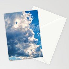 cloudy sky 2 std Stationery Cards