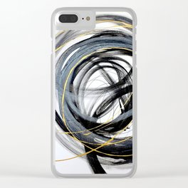 CONUNDRUM Clear iPhone Case