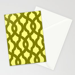 Grille No. 2 -- Yellow Stationery Cards