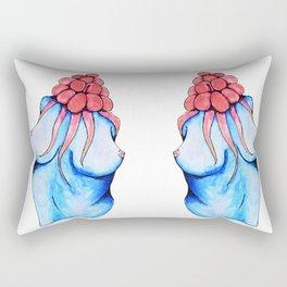 The Case of Alien Tits Rectangular Pillow