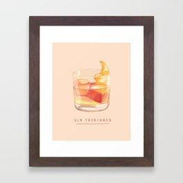 Old Fashioned Framed Art Print