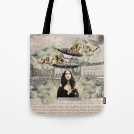 aNGeLs aNd ZePPeLiNs Tote Bag