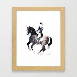 Horse (Canter pirouette II) Framed Art Print