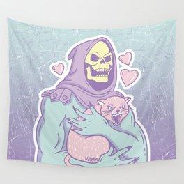 Skeletor's Cat Wall Tapestry
