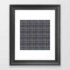 Rosewall plaid Framed Art Print