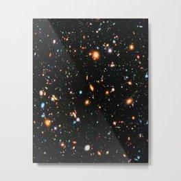 Hubble Extreme Deep Field Metal Print