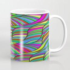 waves of colors  Mug