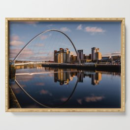 Millennium Bridge Gateshead Serving Tray