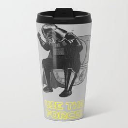 Use The Force! Metal Travel Mug