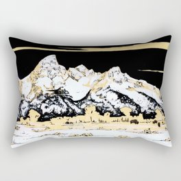 Winter on the Flats Rectangular Pillow