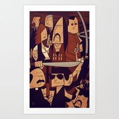 Machete Art Print