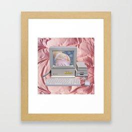 Cyber ass Framed Art Print