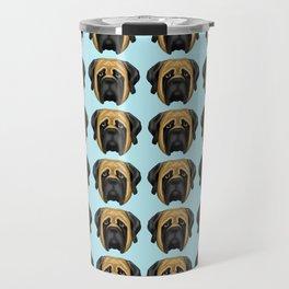 Apricot Mastiff Travel Mug