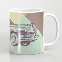 car Mugs featuring Car by Mr and Mrs Quirynen