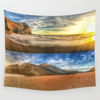 tennessee Wall Tapestries featuring Tennessee Valley Stacked Panorama by Brandon Beacon Hill