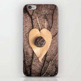 Heart Leaf iPhone Skin