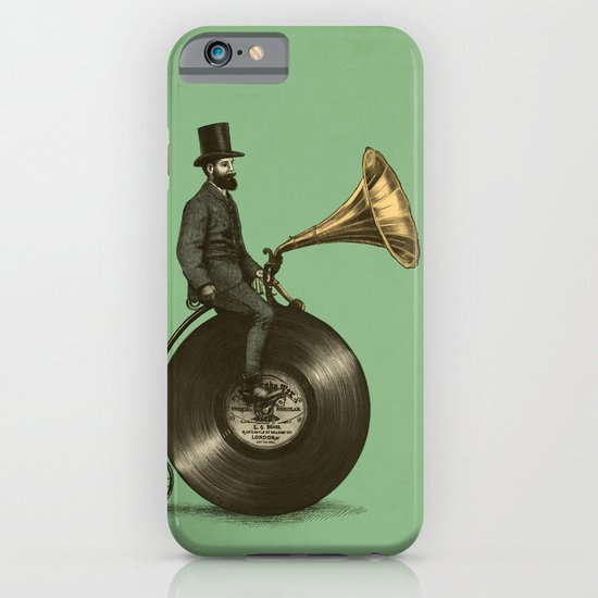 Music Man (Green Option) iPhone & iPod Case