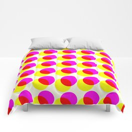 dots pop pattern 2 Comforters