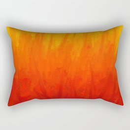 Fire and Liquid Sunshine Rectangular Pillow