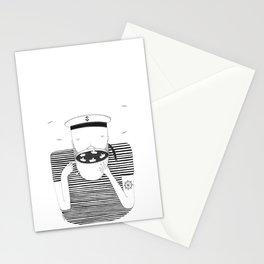 El marinero cafetero Stationery Cards