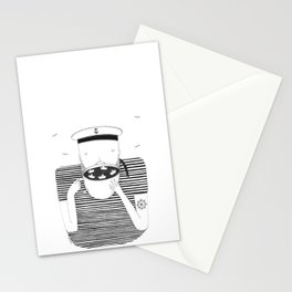 El marinero cafetero Stationery Cards