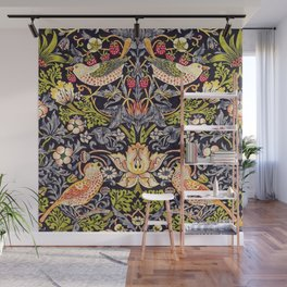 William Morris Strawberry Thief Art Nouveau Painting Wall Mural