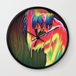 'Let it rain' Wall Clock
