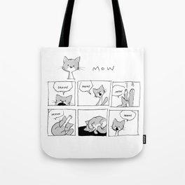 minima - mow mow mow Tote Bag