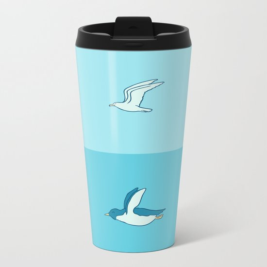Fly in your own sky Metal Travel Mug