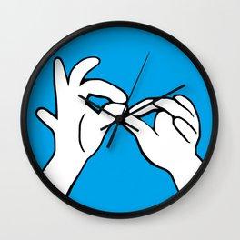 ASL Interpret Wall Clock