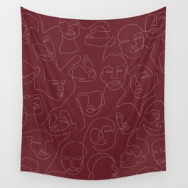 Rich and Bold Wall Tapestry