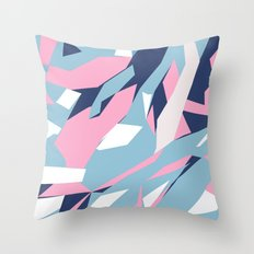 Hastings Zoom Pink Throw Pillow