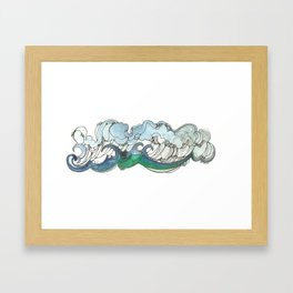 La Mar Framed Art Print