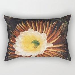 Robert John Thornton - The Night–Blowing Cereus Rectangular Pillow