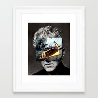 lynch Framed Art Prints featuring david-lynch by Pato (aka, duck)