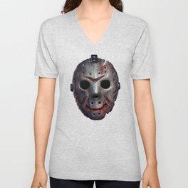 Happy Friday Mask Unisex V-Neck