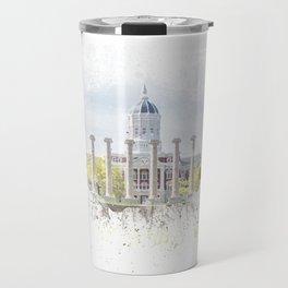 Mizzou Columns Splash Travel Mug