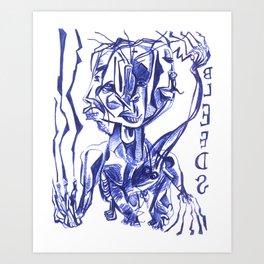 BLEEDS Art Print